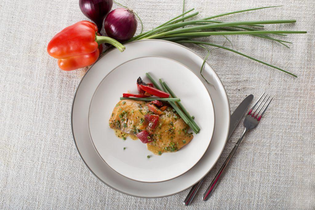 Jerusalem Cuisine Salmon Fillet